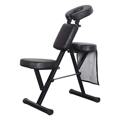 AYCHAISR Tragbar Massagestühle Massagesessel Therapie Stuhl Dick Schwamm Höhe Einstellbar Falten Massage Stuhl Gesicht Wiege Salon Massage Bett SPA Stuhl -
