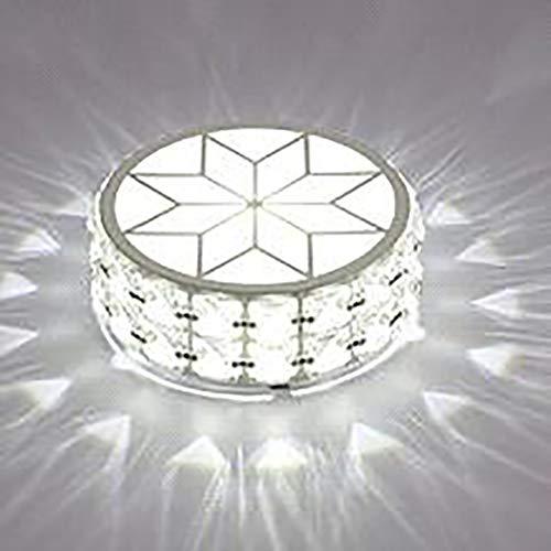 Cristal moderno 6W LED Lámpara de techo Pasillo Corredor Porche Downlight Lámpara...