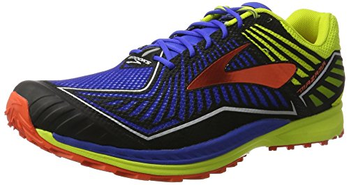 Brooks Mazama, Zapatillas de Entrenamiento para Hombre, Multicolor (Electric Blue/Limepunch/c), 46 EU
