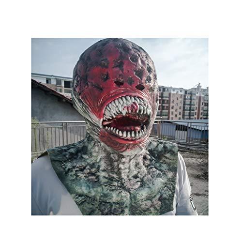 Halloween Adult Latex Maske Horror Film Zombie Kopfbedeckung Spukhaus Horror ()
