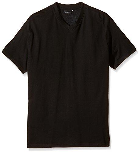 Preisvergleich Produktbild Götzburg Herren T-Shirt 741275-8709, 2er Pack, Einfarbig, Gr. X-Large (Herstellergröße: XL/54), Schwarz (black 799)