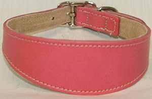 BBD Grey Hound Deluxe Collar, Pink
