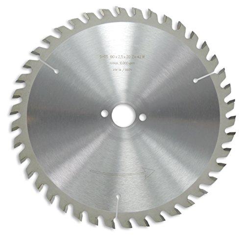 Preisvergleich Produktbild HM / HW Sägeblatt mit Nebenlöchern und Wechselzahn 190 x 20 mm mit 42 Zähnen Made in Germany (OR18)