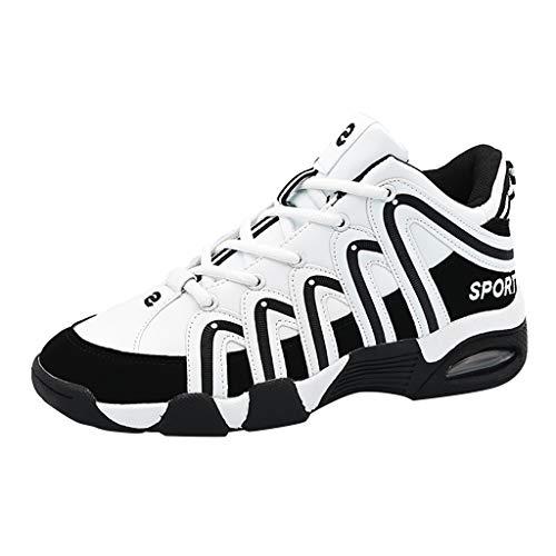 Scarpe Antinfortunistica Uomo Donna Estive Scarpe,Scarpe-TengSportive Air Cushion Allacciare Sneakers Scarpe Ginnastica Uomo Escursionismo Scarpe da Cantiere Donna Uomo Leggere