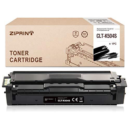 ZIPRINT Compatibile Samsung CLT-K504S Toner pour Samsung CLX-4170 CLX-4195FN CLX-4195FW CLP-415N CLP-415NW CLP-470 CLP-475