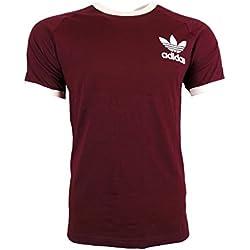 adidas Clfn Tee Camiseta, Hombre, Granate (Granat), M