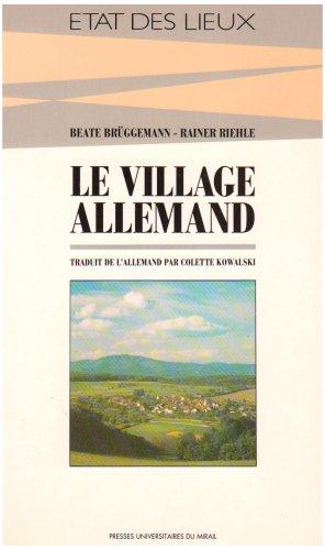 Le village allemand
