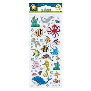 Craft Planet CPT 6561028 - Pegatinas Decorativas, diseño de Vida Marina