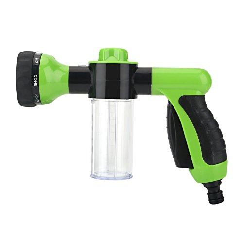 Zerodis Foam Gun Pressure Washer Car Wash Gun Water Sprayer Car Wash Watering 6m Green