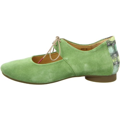 Think Guad 82285-61 Damen Slipper, Ballerinas Grün