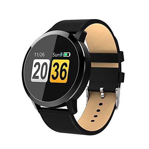 itness Smart Armbanduhr 丨 Telefon-Mate 丨 Schrittzähler 丨 Pulsuhren 丨 Schlafqualität Rekord 丨 Anrufen/SMS 丨 Remote Shoot 丨 Wasserdicht IP67 丨 für Damen Herren (Schwarz) ()