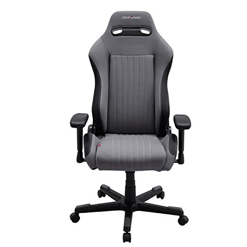 DXRacer Drifting DE91 Gaming Chair, Stoff -...