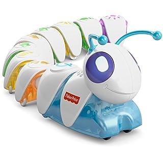 Fisher-Price DKT39 Lern-Raupe Flitzi Lernspielzeug mit Musik für logisches Denken und erstes Programmieren, ab 3 Jahren