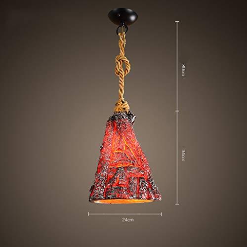 BMY Chandelier/Creative Retro Chandelier Combinación de Resina Personalidad Chandelier de carbón de...