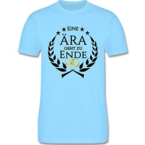 JGA Junggesellenabschied - Eine Ära geht zu Ende - Herren Premium T-Shirt Hellblau