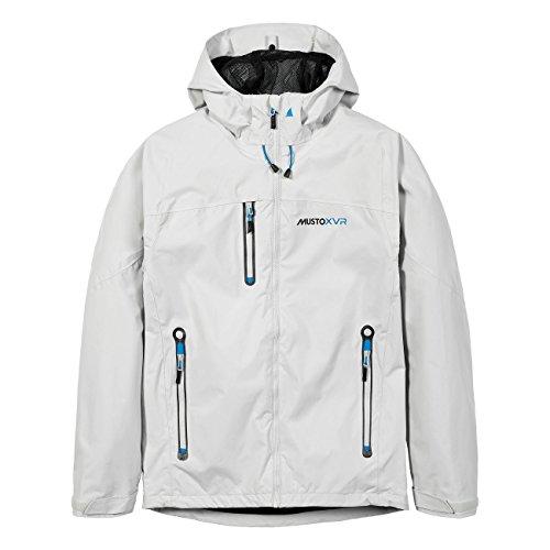 Musto XVR BR1 Herren Segeljacke Funktionsjacke Outdoorjacke, Farbe:weiß, Größe:L
