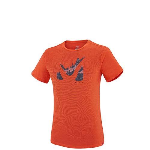 MILLET Herren MIV7696 T-Shirt, Orange, XXL -