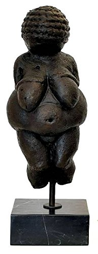augustandmarch MÄCHTIGE BRONZESKULPTUR Figur Venus VON Willendorf Frau Limitierte SKULPTUR MODERN Art Bronze SKULPTUR HÖHE:45cm