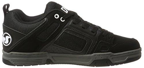 DVS Shoes Comanche, Baskets Homme Schwarz (Black Black Leather)