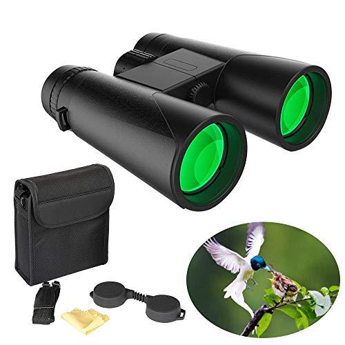 Fernglas Testsieger 10x42 Hochleistungs Vergrößerung Ferngläser helle und klare Sichtbereich für Reisen Vogelbeobachtung Astronomie Sport und Tierwelt