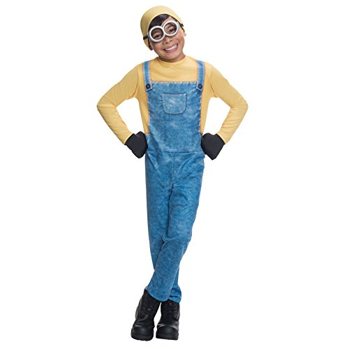 Kevin Minions Kostüme Kinder Minion Film (Minion Bob Kinder Gr. S Karneval Kostüm Kinderkostüm Unverbesserlich Overall Film)