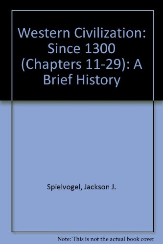 Western Civilization, with InfoTrac: A Brief History