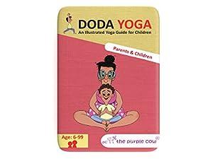 The Purple Cow Doda Yoga-Parents and Children Game, Multicolor
