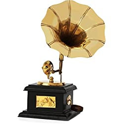 Generic ITOS365 Handmade Vintage Dummy Gramophone Only For Home Décor