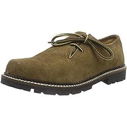 Stockerpoint Schuh 1224, Unisex-Erwachsene Derby Schnürhalbschuhe, Braun (Torf antik), 42 EU