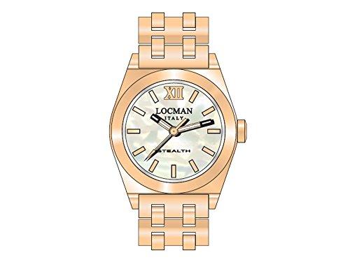Locman reloj mujer Stealth Lady 0204RGMWF5N0BRG