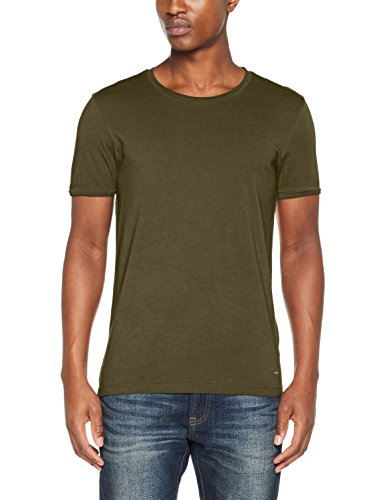 BOSS Casual Herren T-Shirt Troy Grün (Dark Green 302)
