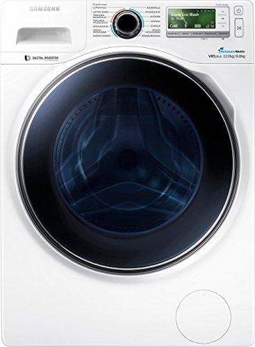 Samsung WD12J8400GW/EG Waschtrockner / 1224 kWh / SchaumAktiv-Technologie / Eco Trommelreinigung / 12 kg / weiß