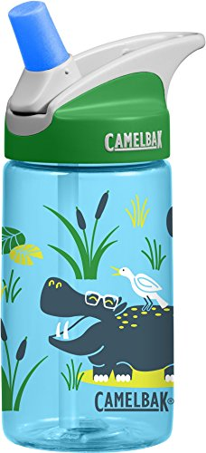 CamelBak 1274403040 - Bidón para niños y niñas, 4 litros, Hip Hippos