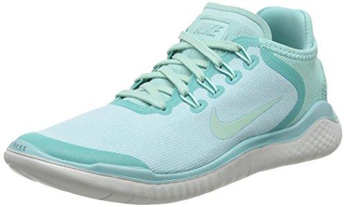 Nike Free Rn 2018 Sun, Damen Laufschuhe, Grün (Island Green/Igloo/Vast Grey 300), 40 EU (6 UK)