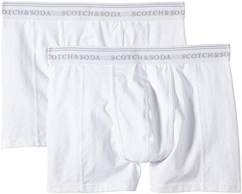 Scotch & Soda Herren Boxershorts 99019990099, 2er Pack Mehrfarbig (Dessin A A)