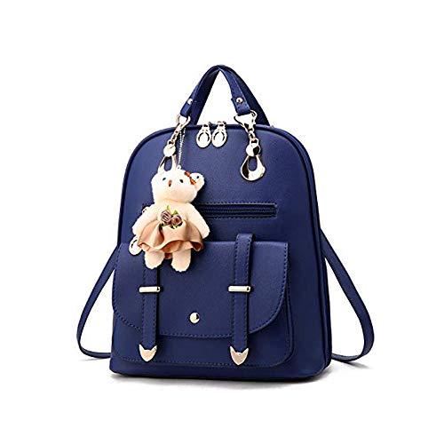 Mini Babala Damen Rucksack Schulter Ausflug Rucksäcke Elegant PU Leder Schultasche Freizeitrucksack Kleiner Rucksack Mädchen für Frauen