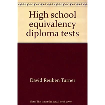 High school equivalency diploma tests: Secondary level tests of general educational development (Arco test tutor)