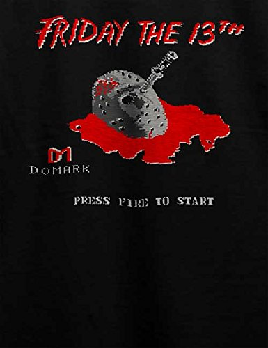 Friday The 13Th T-Shirt Schwarz