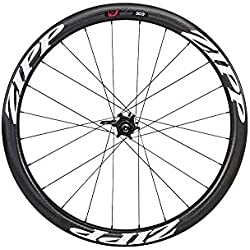 Zipp 303 Carbon Clincher Disc Brake V2 177D Rear 24 Spokes 10/11 Speed Campagnolo Decal - Rueda para bicicletas, color blanco