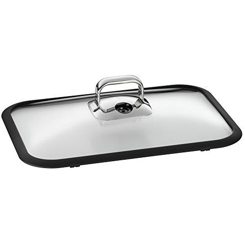 WMF Vitalis Glasdeckel mit Silikonrand für 6,5l, Silikondichtung, spülmaschinengeeignet