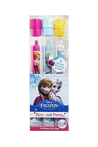 Scentco 99008 - Disney Die Eiskönigin - Glitter Gel Smens 3er-Set, duftende Gelstifte