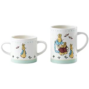 Beatrix Potter Tasses maman/bébé Pierre Lapin
