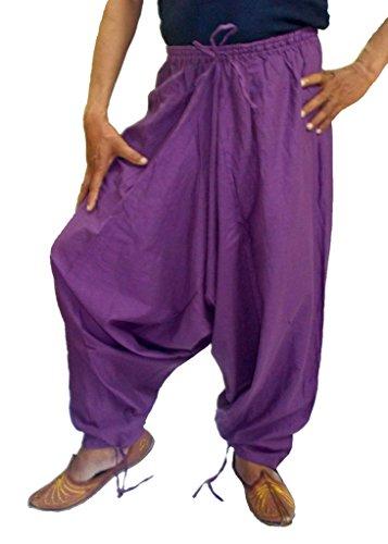 sarjana-kunsthandwerk-herren-baumwolle-harem-pants-genie-baggy-hose-gr-large-violett