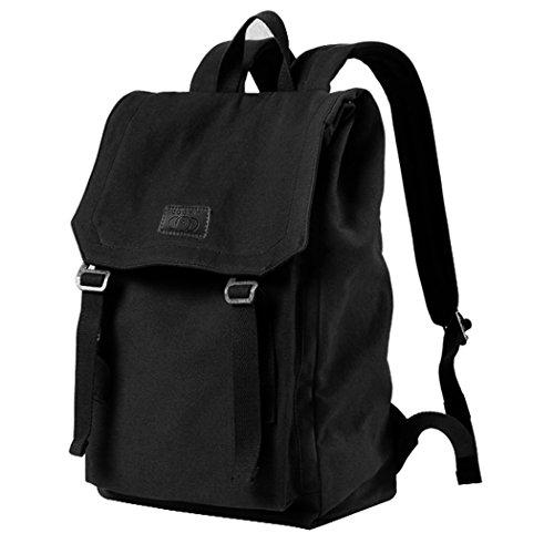 Canvas Rucksack, Coofit Damen Herren Schulrucksack Laptop Rucksack 16 Zoll Vintage Backpack Reiserucksack Daypack Outdoor Rucksack schultaschen