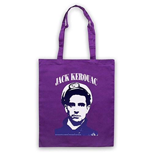 Jack Kerouac Sulla Strada 1 Umhangetaschen Violett