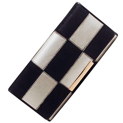 H&W Donna Pelle Portafoglio Horsehair Borsa Colore #5 Colore #3