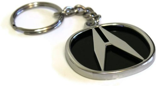 acura-key-chain-mirror-chrome-metal-authentic-key-ring-lanyard-tsx-tl-mdx-rsx-by-wang