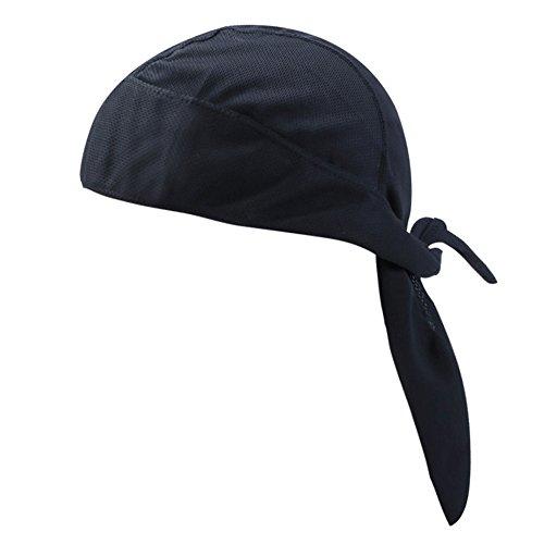 YD Einstellbare Sport-Kopfbedeckung Schweißableitende Beanie-Mütze Radsport-Bandana-Mütze Sonnen-UV-Schutz Für Outdoor-Sport Unisex