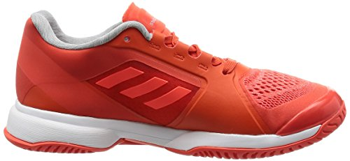 adidas Damen By Stella Mccartney Barricade 2017 Tennisschuhe Orange (Blaze Orange/Ftw White/Solar Red)