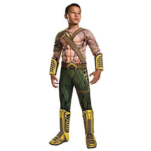 SEJNGF Kinder Halloween-Kostüm Junge Justice League Superheld Spielkostüm,Green-L (Justice League Of America Kostüme)
